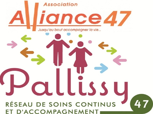 Les deux logo associations alliance 47 puis celle de Pallissy