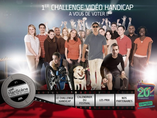 affiche du premier challenge video handicap
