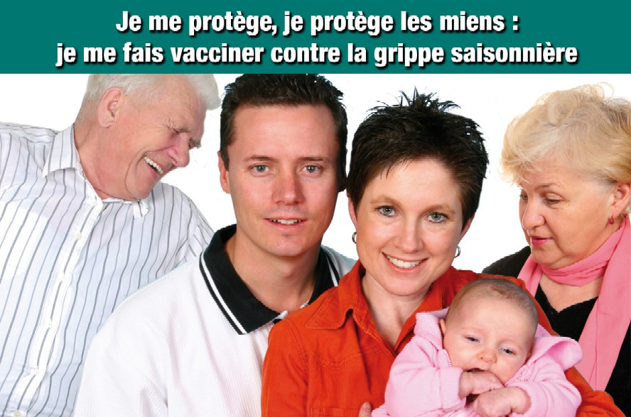 Campagne nationale vaccination grippe