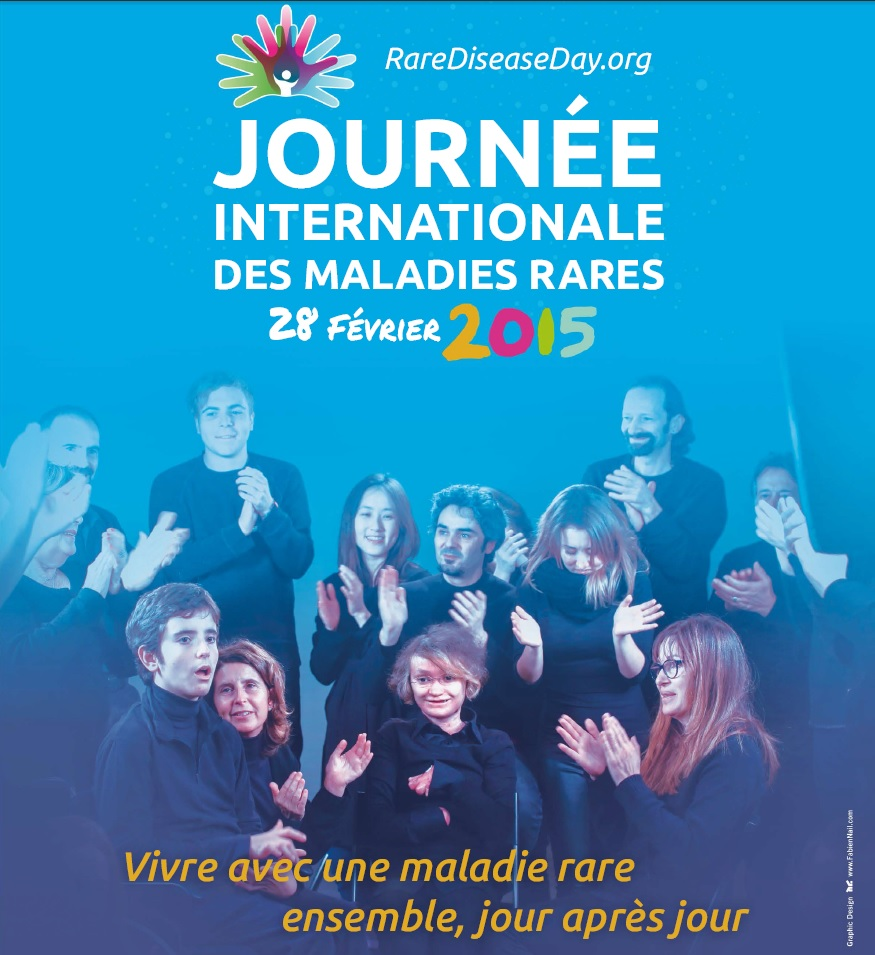 Affiche journee internationale des maladies rares 2015