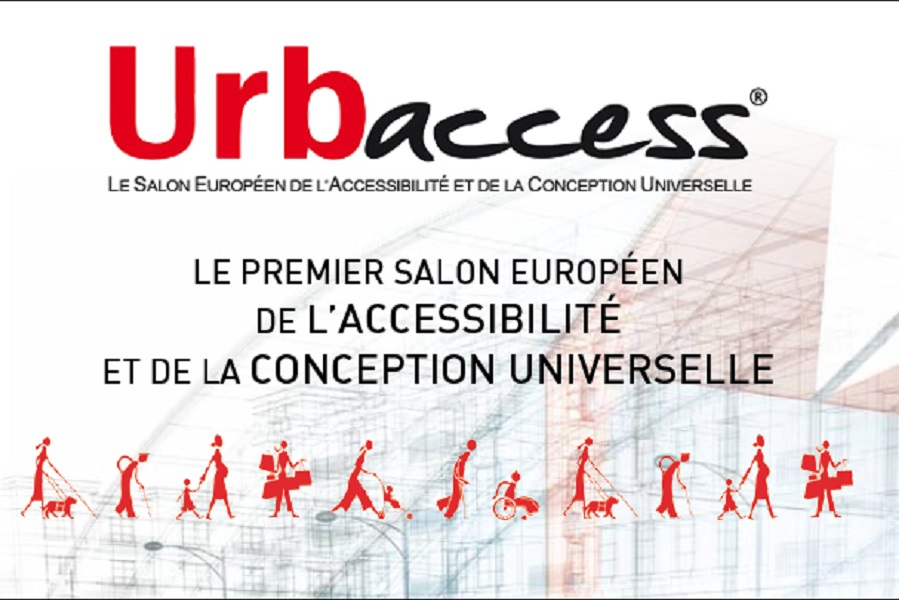 Afffiche Salon urbaccess Accessibilite Universelle Paris 2015