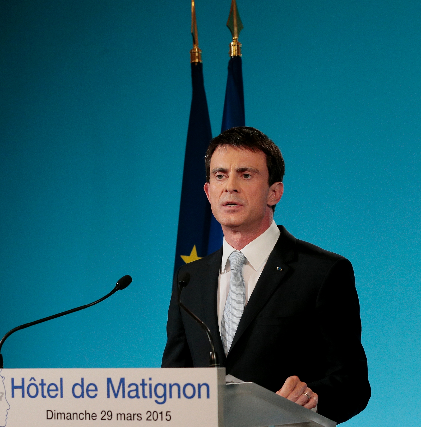 Manuel VALLS Declaration vote departemental