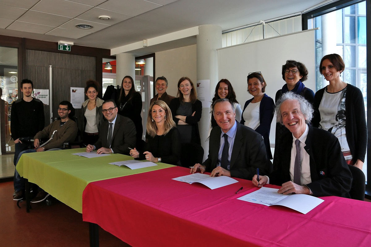 Signature convention Universite de Strabourg