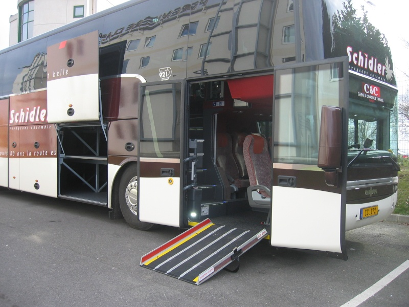 Bus et autocar accessible