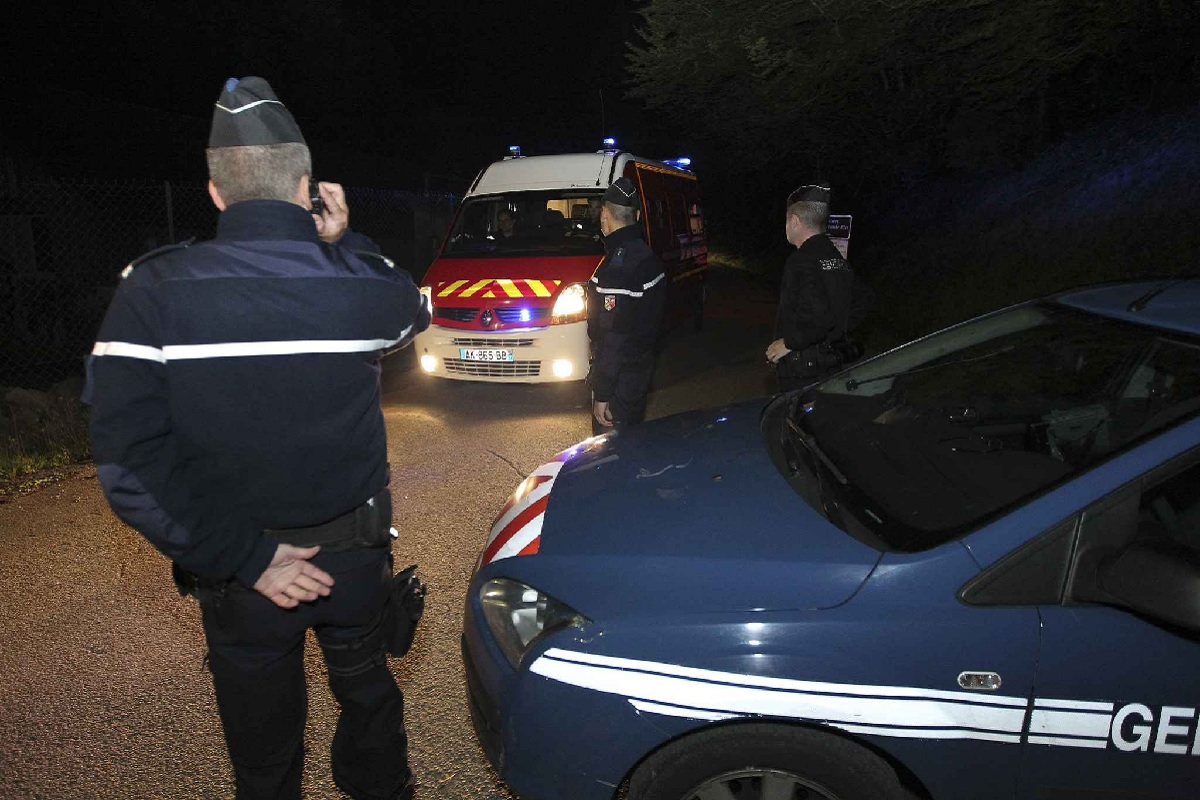 Intervention pompier et gendarmerie