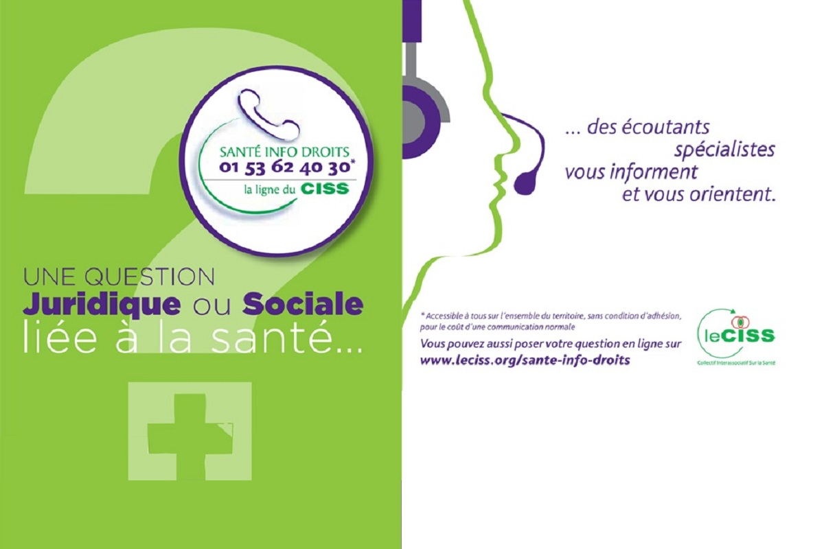 Affiche CISS service appel telephonique