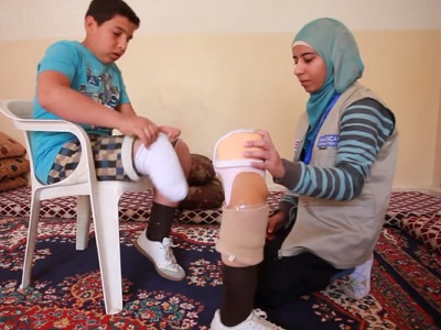 Youssef 14_ans_ampute_d_une_jambe