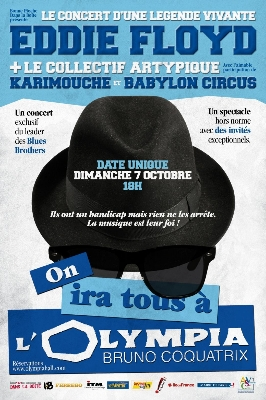 affiche du spectacle on ira tous a olympia