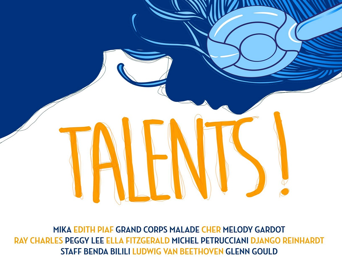 Couverture CD talents