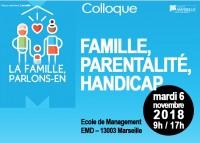 """Colloque """"famille, parentalité, handicap"""""""