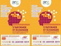 Assises régionales du Plan maladies neuro-dégénératives le 22 janvier 2019 à Paris