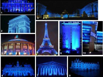 """Résultat de recherche d'images pour """"« Éclairez de bleu » paris 2 avril"""""""