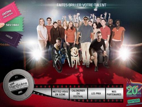 Affiche faite briller vos talent organisé par l'association tremplin