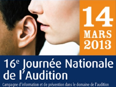 affiche journée nationale de l'audition 2013