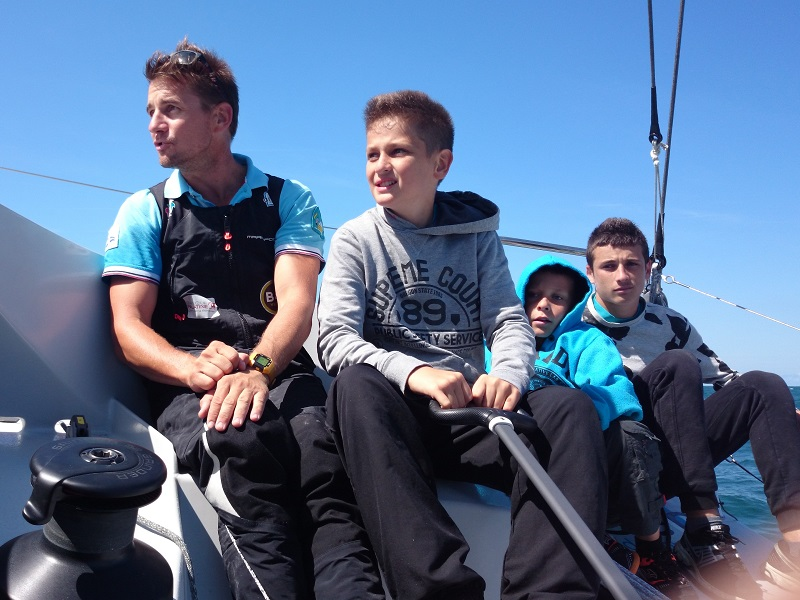 Class 40 Defi Voile Solidaires Equipage