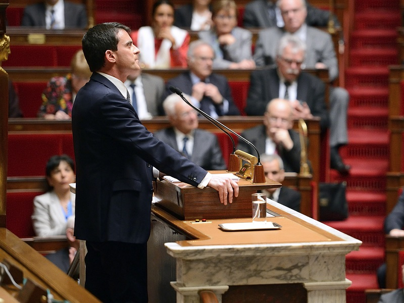 Manuel Valls Assemblee nationale