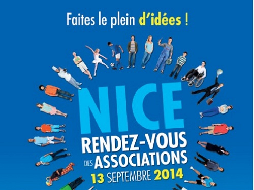 Affiche Rendez-vous associations Nice 2014