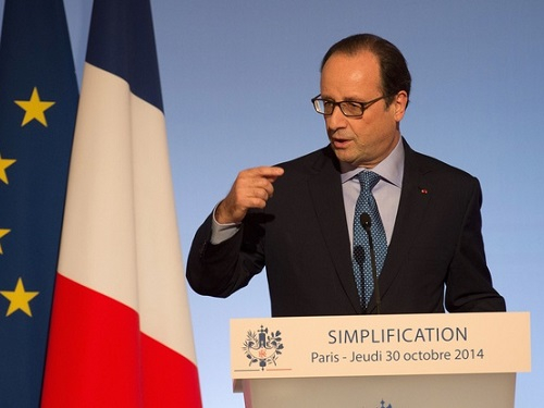 Presentation programme de simplification des entrerpises francois hollande