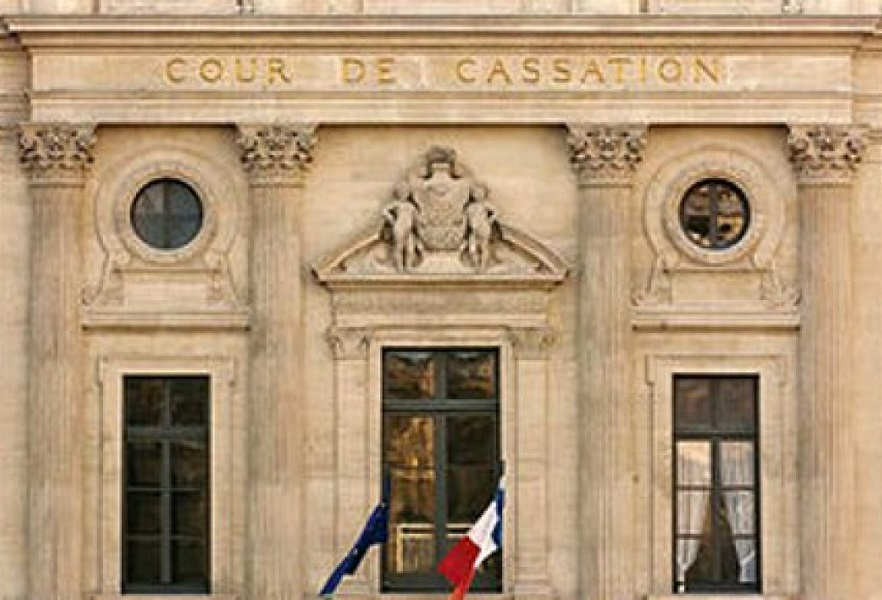 Facade superieur Cour de Cassation a Paris