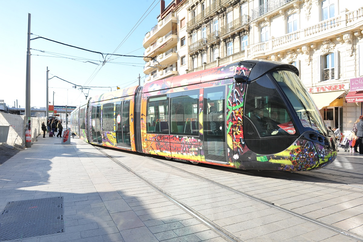 Le Tramway a montpellier