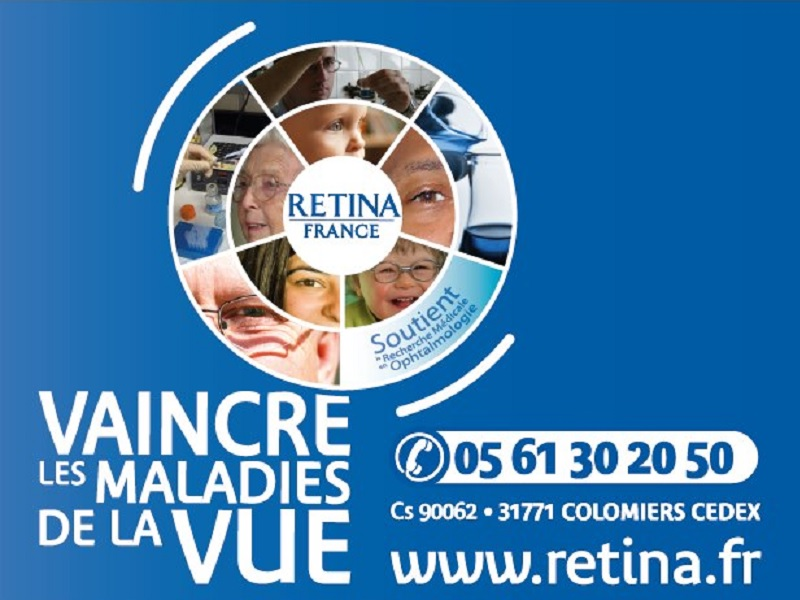 Journee mondial de la vue manifestation association retina france