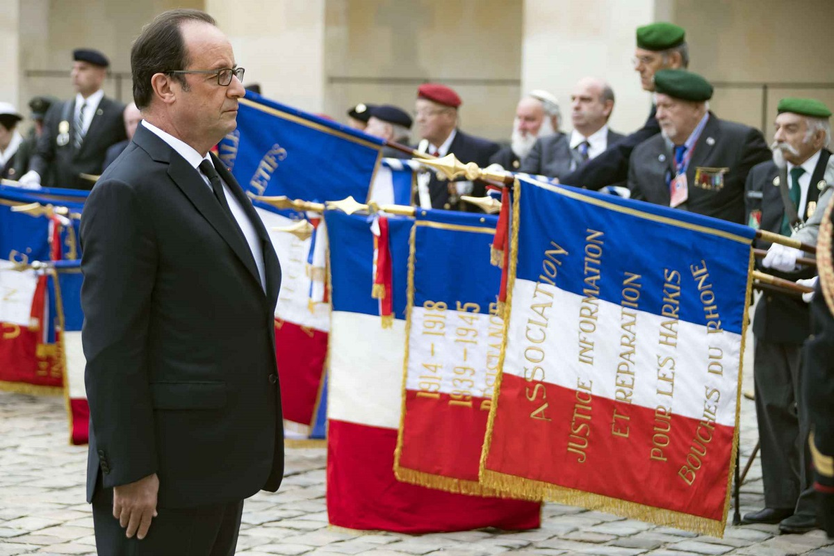 ceremonie d hommage officiel par francois hollande