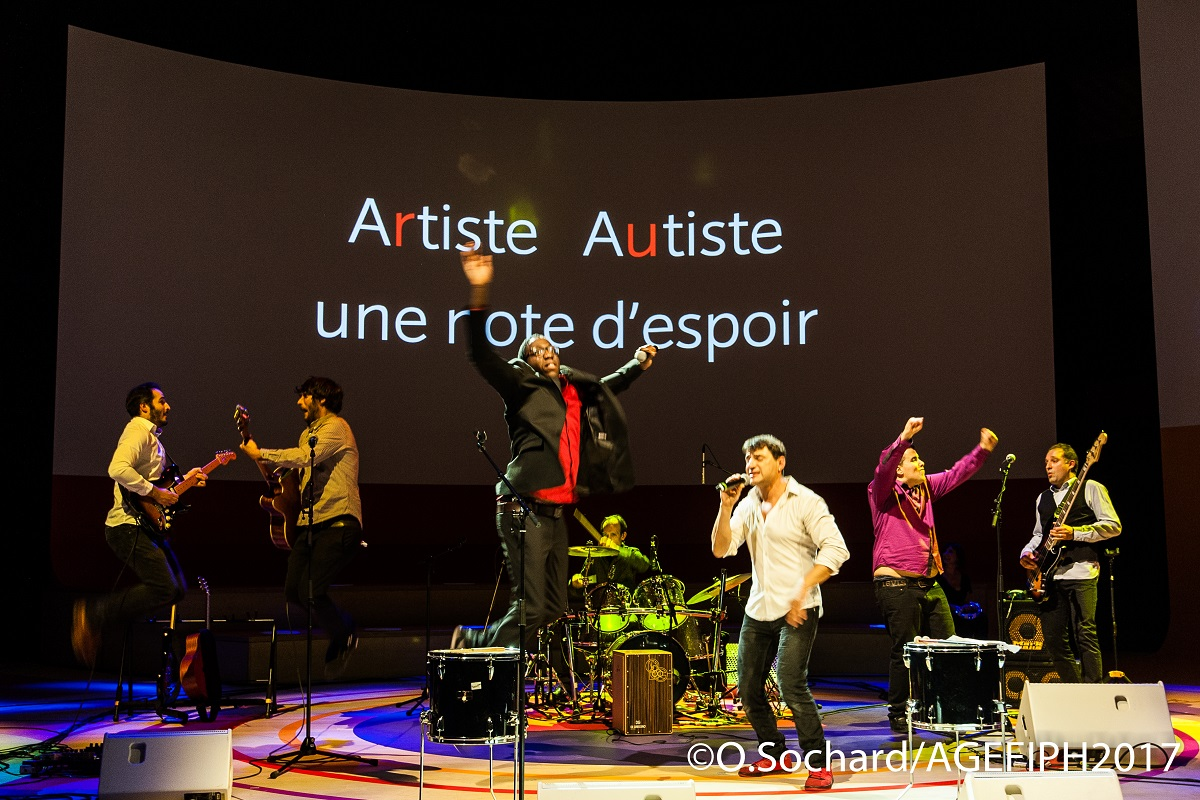 Le groupe Percujam compose dartiste autiste