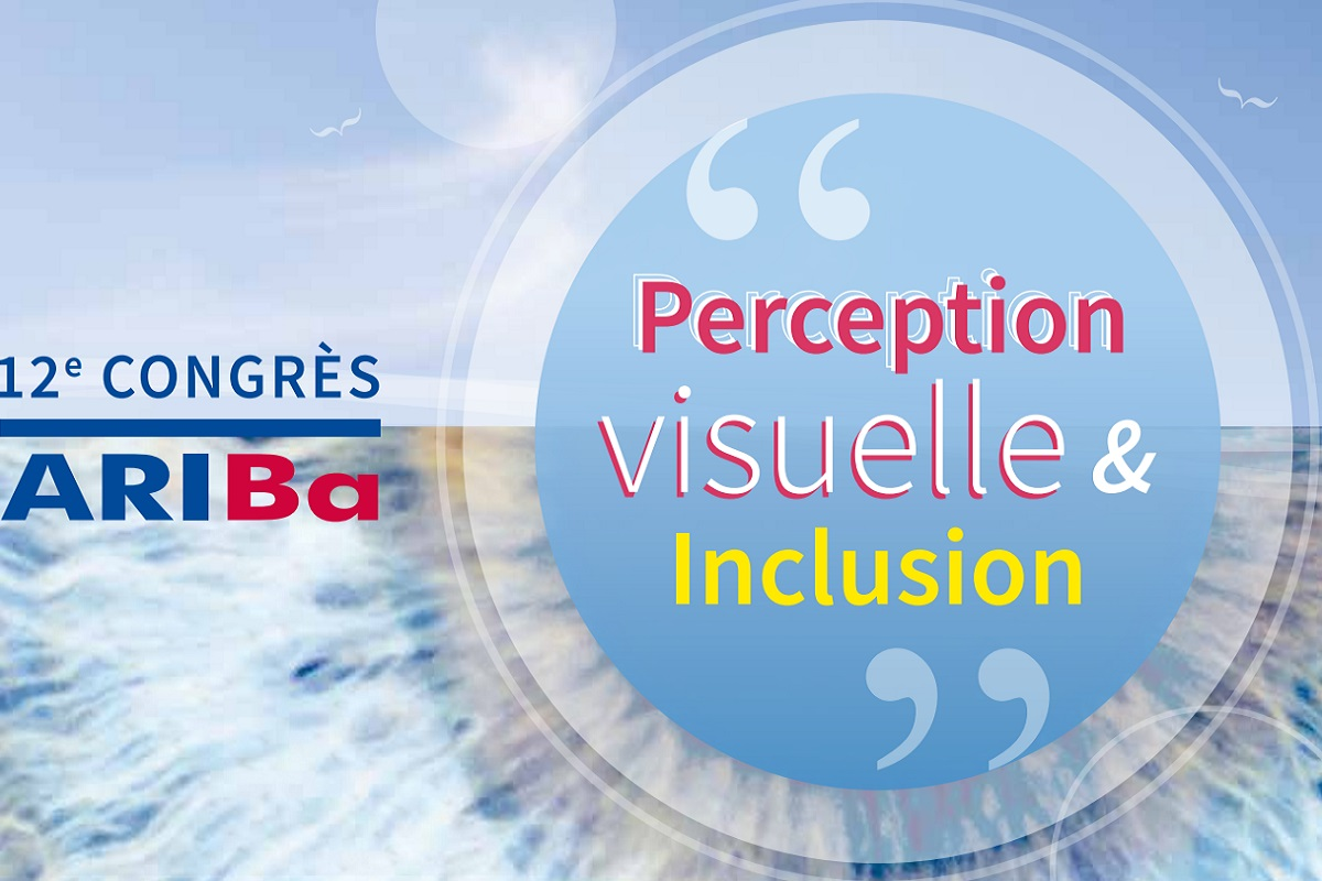 Logo du 12 congres ariba intitule perception visuelle inclusion d9aa9