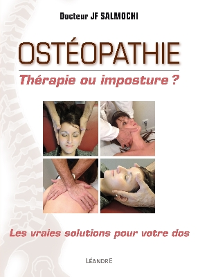 Photo de la couverture du livre Osteopathie therapie ou imposture
