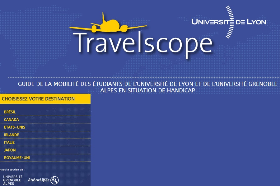Guide pratique TRAVELSCOPE de l Universite de Lyon