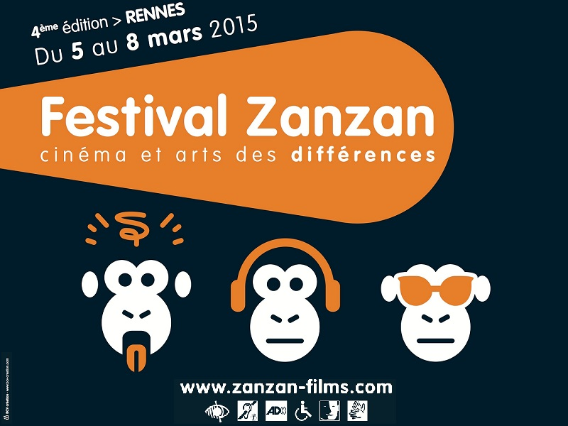 Affiche Festival ZANZAN Cinema et arts des differences